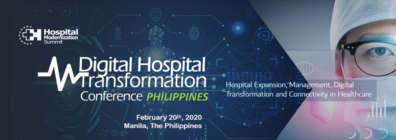 Asia HMS – 2020 Digital Hospital Transformation Conference Philippines