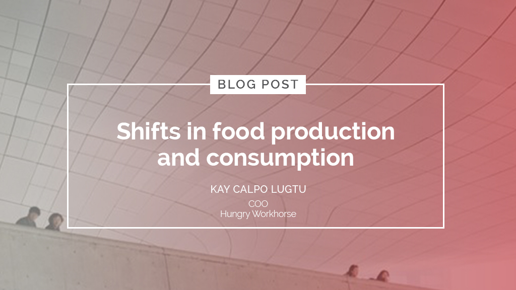 Shifts in food production and consumption