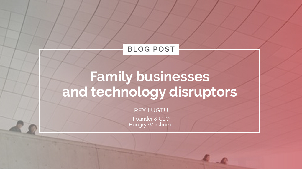 Family businesses and technology disruptors